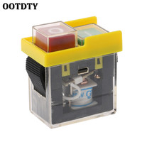 AC 250V 6A Waterproof Pushbutton Machine Saw Cutter Drill On Off Switches Control Box Switches Electromagnetic Switch KJD6 5e4 Electrical Equipment & Supplies