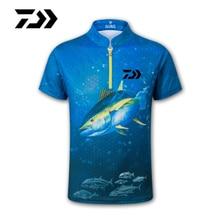 Новая рубашка с коротким рукавом для рыбалки быстросохнущая УФ дышащая профессиональная походная велосипедная одежда для рыбалки Спортивная одежда для рыбалки