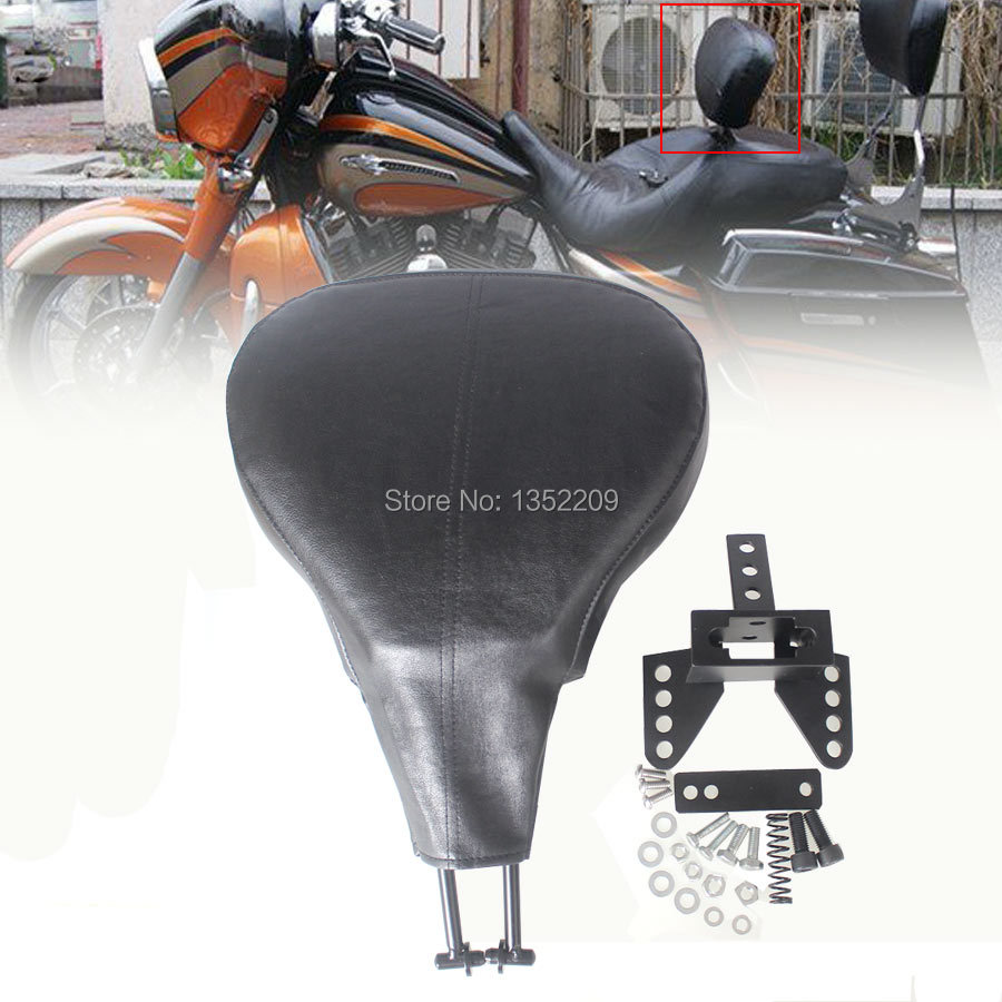NEW Adjustable Driver Back Rest Backrest fits For Harley Touring 1988-2008