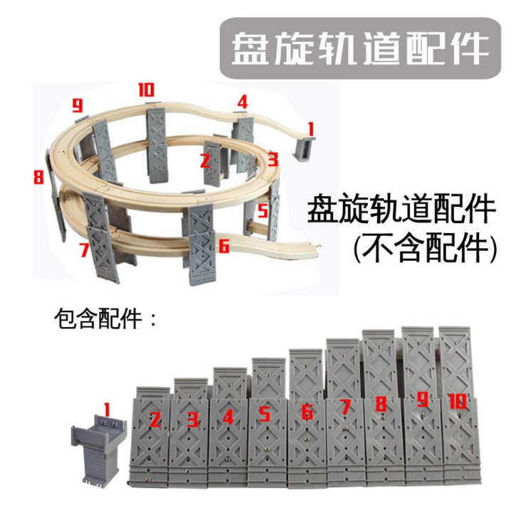 Train Toys Railway Track TTC60 Z-BRIDGE Fit for Thomas Truck Tomas Car Brio Toys for Boys Engine Models Building Toy