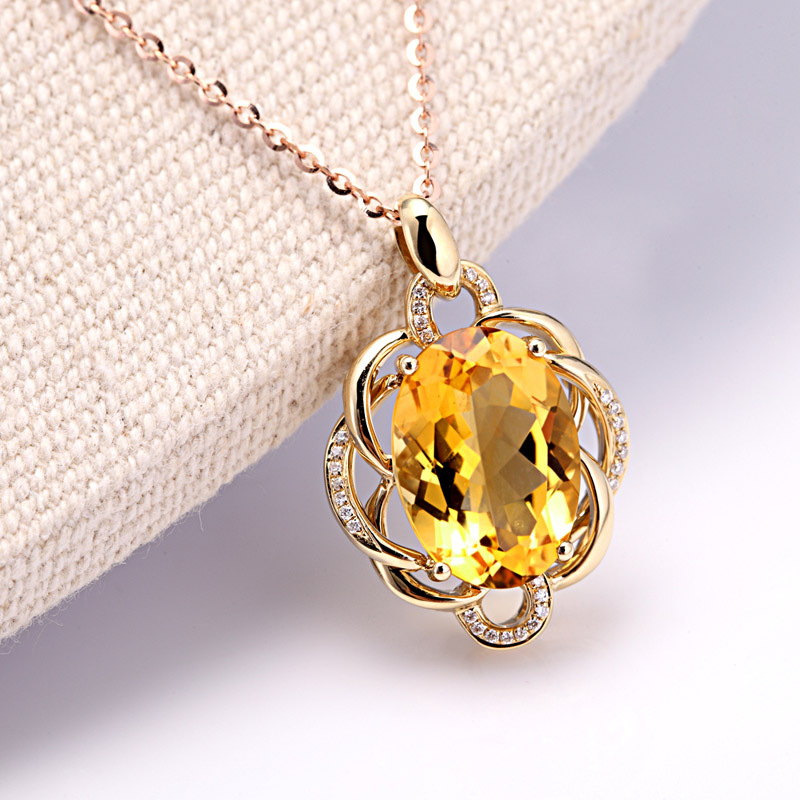 ann ruby white diamond gemstone pendants oval in louise gold pendant necklaces necklace jewellers canada