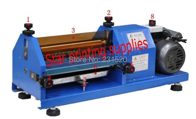 Automatic Gluing Machine 27cm Glue Coating Machine for paper, Leather, Wood, glue machine  цены