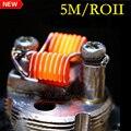 Отопление Катушки Проволоки A1 0.4 мм Провода 5 м 32 Г * 26 15 Футов клэптон Провода нагревательного провода для RDA РБА Ввиду Распылитель форсунки катушки