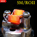 Heating Coil Wire A1 0.4mm Wire 5m 32G*26 15 Feet Clapton Wire heating wire for RDA RBA Rebuildable Atomizer Vaporizer coils