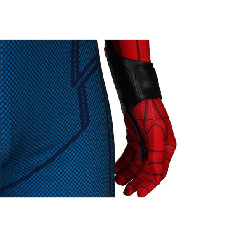 Image 4 - In Stock Spiderman Peter Parker Cosplay Spider Man Homecoming Costume Jumpsuit Zentai Adult Men Superhero Halloween Party Outfit-in Movie & TV costumes from Novelty & Special Use