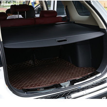 Задняя полка для автомобиля для Mitsubishi Outlander крышка багажника материал занавеска задняя шторка Выдвижная прокладка задние стойки