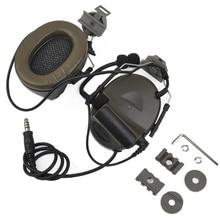 Z Тактический Softair авиационная гарнитура для наушников Comtac ii Гарнитура для скоростные шлемы и Peltor шлем рельсовый адаптер Набор