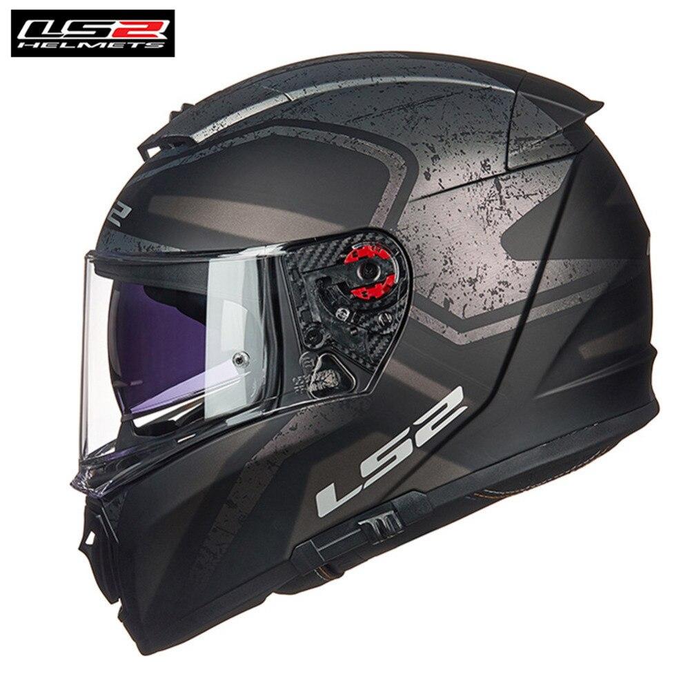 * Il trasporto PINLOCK * LS2 FF390 Breaker Pieno Viso Casco Del Motociclo Degli Uomini Da Corsa Casque Casco Moto Capacetes de Motociclista Motore timone