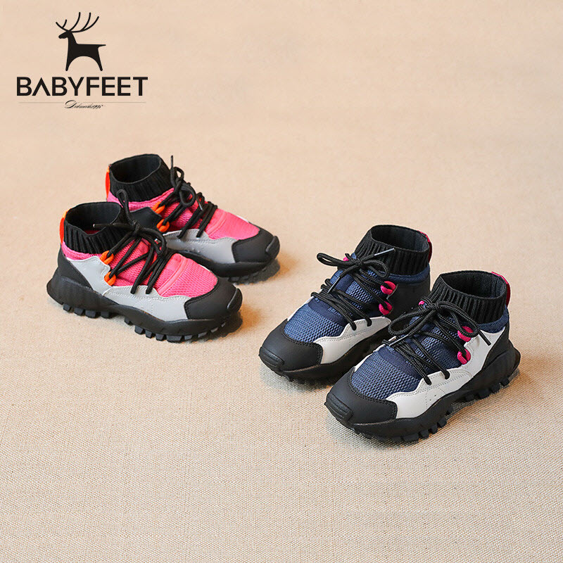 2017 Babyfeet Children Booties Running kids Sports shoes baby Girl Boy Sneakers tenis infantil chaussure enfant calzado infantil kids shoes girls winter diamond bow toddler pu shoes children trainers baby shoes infantil princess warm shoes chaussure enfant