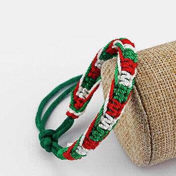 Bracelet Italien Tissu