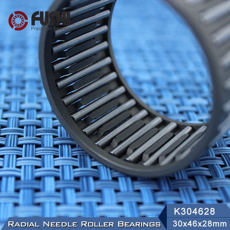 K304628 Bearing size 30*46*28 mm ( 1 Pc ) Radial Needle Roller and Cage Assemblies K304628 Bearings K30x46x28 bk3038 needle bearings 30 37 38 mm 1 pc drawn cup needle roller bearing bk303738 caged closed one end