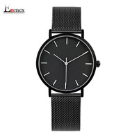 2017 Enmex Cool Style Lady Wristwatch Brief Vogue Simple Stylish Black And White Face Stainless Steel