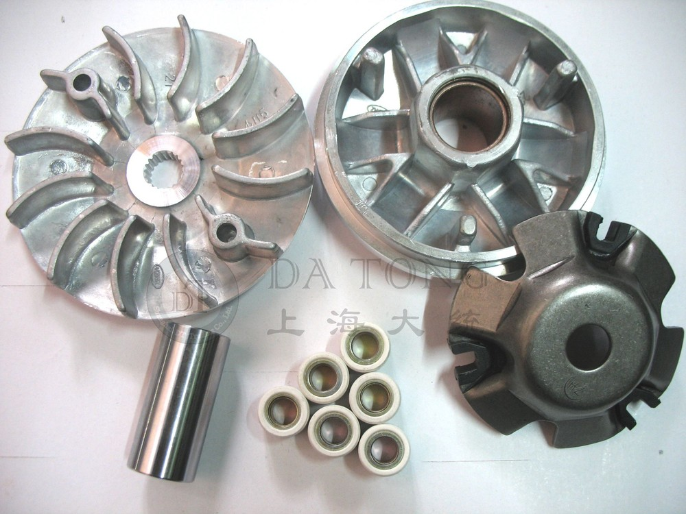 Variator Set with Copper Rollers For 152QMI QJ Keeway Chinese 125 150cc GY6 Scooter Honda Yamaha ATV Moped Spare Part