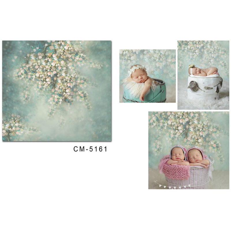 Newborn Backdrop for Photography Baby Shower Birthday Party Photocall Photo Background for Children Photo Studio in Background from Consumer Electronics