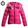 2016 New Designer Fashion Ladies Short Winter Overcoat Women Solid Black Down Coat Jackets For Women Plus Size S-XXL 5 Colors