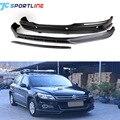 PP + fibra de carbono kit corpo frente lip spoiler difusor traseiro do carro para VW Tiguan 2010-2012