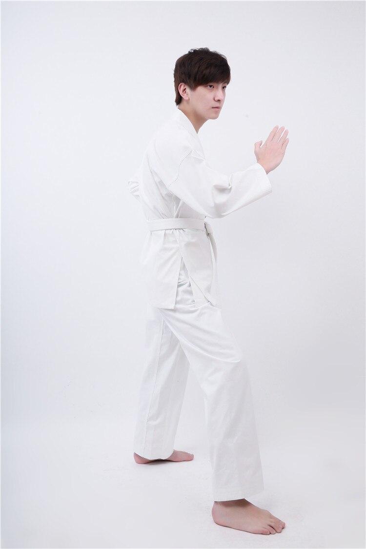 100% Cotton Japan Karate Suit Martial Arts Uniform Aikido  White Karate Uniform Racing Suit Children And Adult high quality kendoist white kendo laido aikido hapkido hakama martial arts uniforms japanese dobok sz xxs 6xl