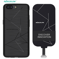 Wireless Charge Case For Oneplus 5 Qi Charging Receiver Oneplus5 Cover Nillkin Magnetic Charging Adapter For