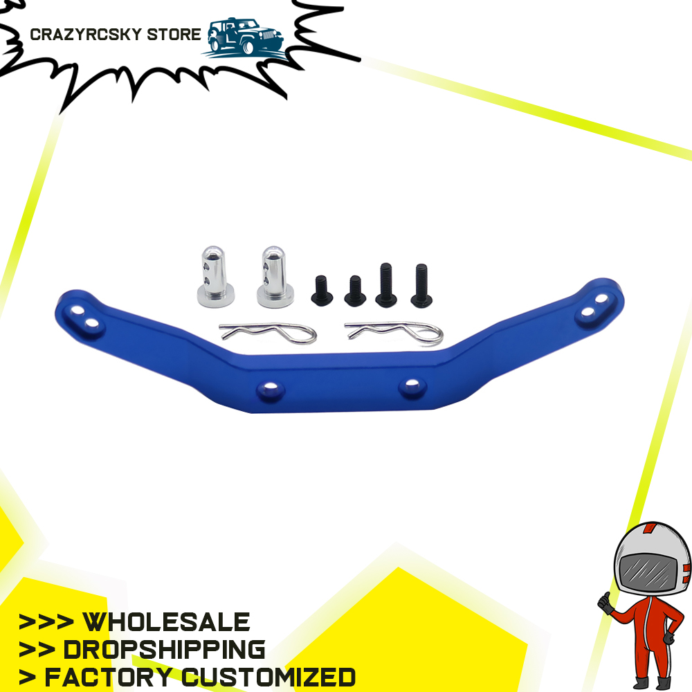 RCAWD 1PC Alloy Front Or Rear Body Mount Post For RC Hobby Car 1/10 Traxxas Slash Short Course Truck Upgraded Parts SLA033