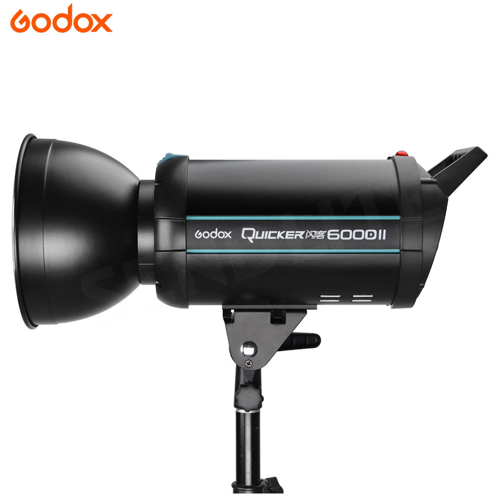 Godox Quicker 600DII 600W High-speed Flash Studio Strobe Photography GODOX Q Series AC110V/ 220v-240v