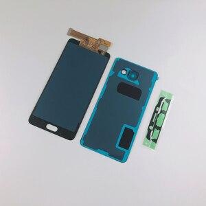 Image 4 - Pour Samsung Galaxy A5 2016 A510 A510F A510FD A510M A510Y LCD écran tactile numériseur assemblée + boîtier batterie couverture arrière