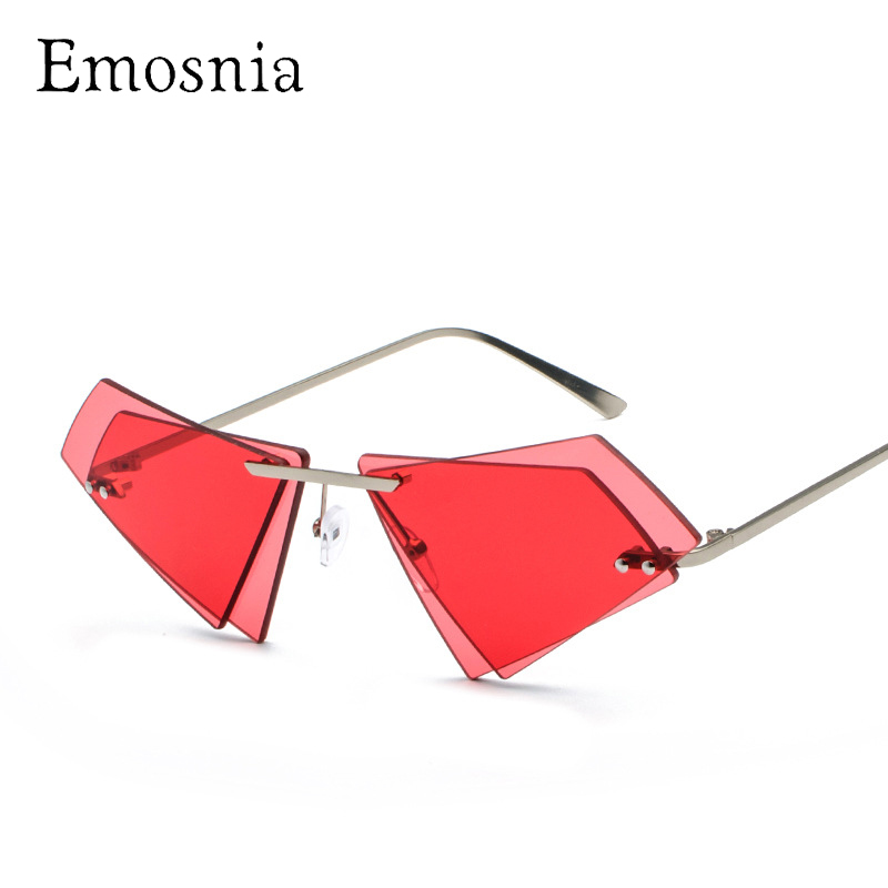 Emosnia Retro Sexy ROTEN Katzenauge Sonnenbrille Gradienten Frauen ...