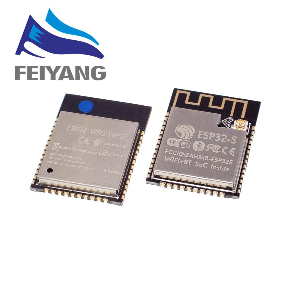 ESP32 ESP-32 Wireless Module ESP32-S ESP-WROOM-32 ESP-32S With 32 Mbits PSRAM IPEX/PCB Antenna With 4MB FLASH