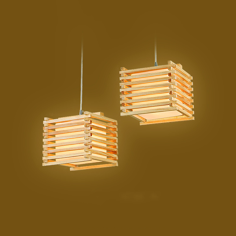 drop pendant lighting. Simple Drop Creative Handmade Wooden Pendant Lights Cube 18cm Country Style Wood Drop  Light Bedroom Dining Room Lighting Art Deco Stripein Pendant Lights From  In Drop Lighting