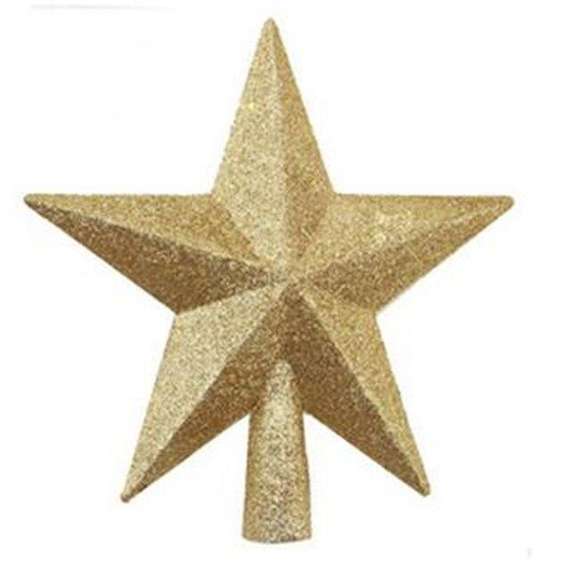 free shipping petite treasures glittered mini star christmas tree topper unlit - Mini Christmas Tree Topper