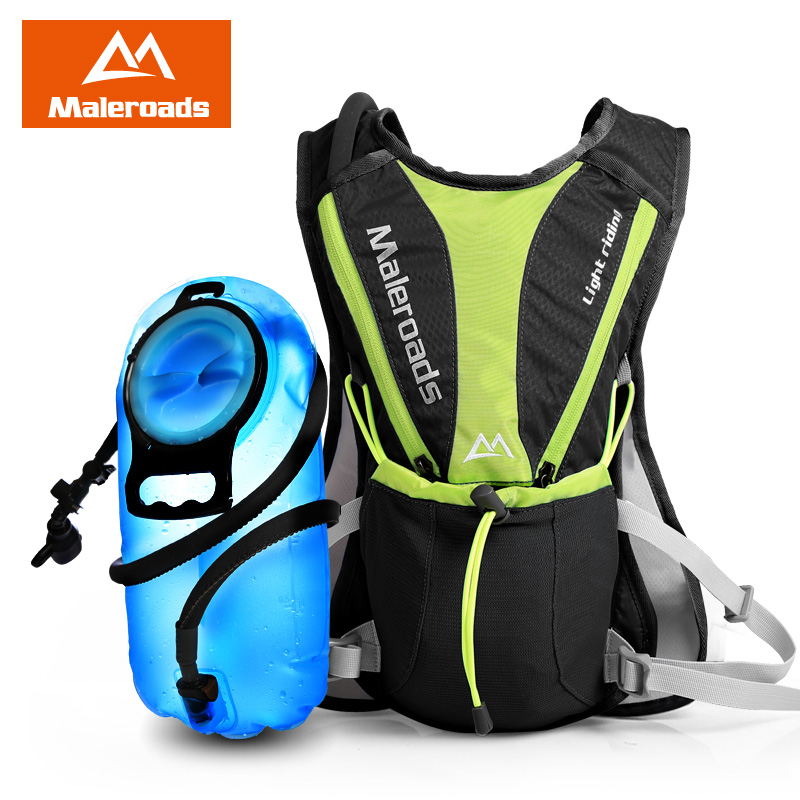 New Maleroads Cycle Rucksack riding backpack Cross Country Runner Ultralight Hike Hydration mini Bicycle Backpacks Water