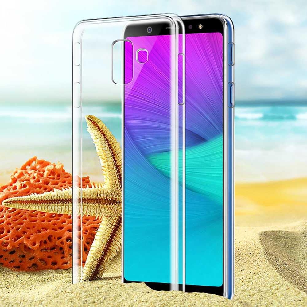 Tranparent Clear Phone Case For Samsung Galaxy S10 Plus S10e J4 J6 A8 Plus 2018 S9 S8 Plus Note 9 8 S7 Edge S10 S10e TPU Cover