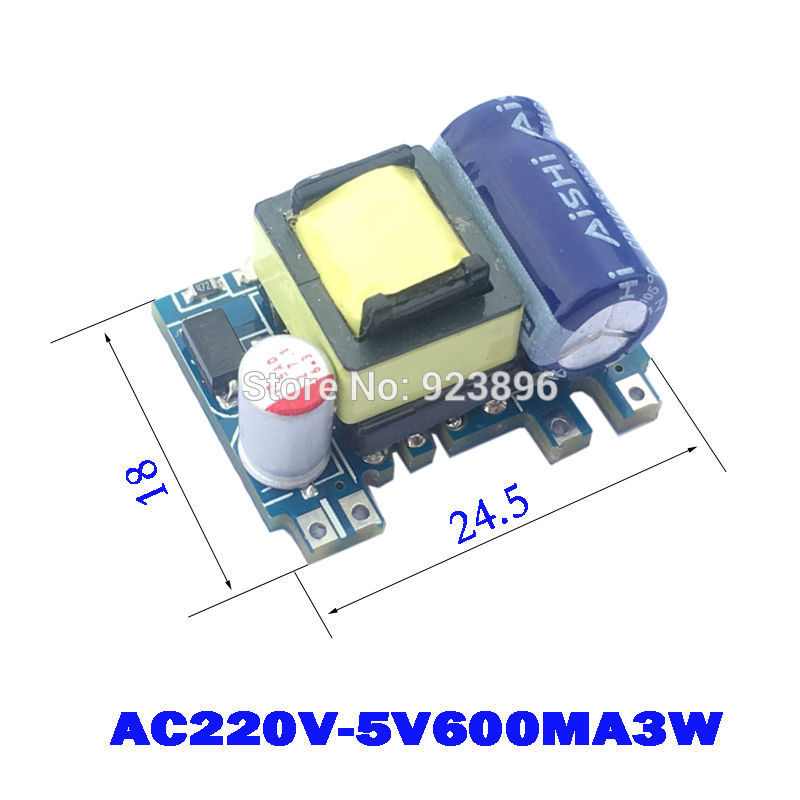 <font><b>AC</b></font>-<font><b>DC</b></font> <font><b>220</b></font> to <font><b>5V</b></font> Small Volume Isolated Switching Power 5V3W Supply <font><b>Module</b></font> Precision Buck X442 image