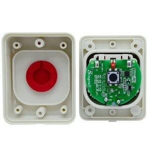Image 5 - Sistema di chiamata Wireless SINGCALL, pulsante in silice rossa, impermeabile, resistente al sole, antipolvere, antiurto, cercapersone a un pulsante (APE510)