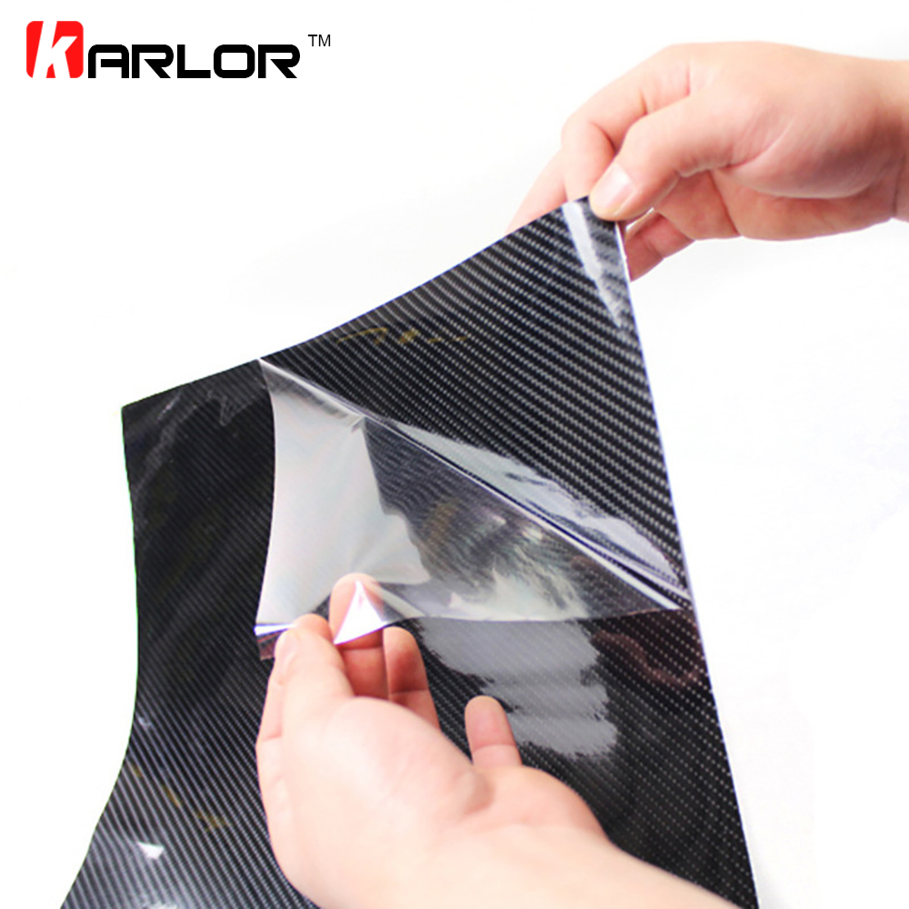 40CMx200CM High Glossy 5D Carbon Fiber Wrapping Vinyl Film Car Scratch Repair Motorcycle Tablet Stickers Car Styling Accessories