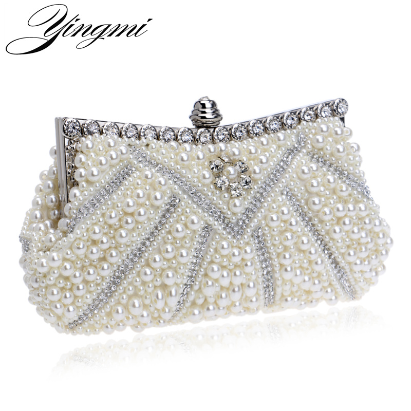 Nuevo Diseño de Las Mujeres Bolsos de Noche Moldeado Hecho A Mano de Diamantes D