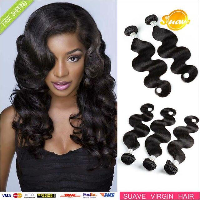 Unprocessed brazilian virgin hair,100% virgin human hair weave, 3pcs a lot body wave brazilian virgin hair extension.