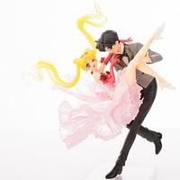 Chouette Usagi and Tuxedo Mask Dance PVC Figure figurine NN5