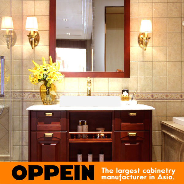 Us 1180 0 Traditonal Luxurious Design Wooden Solid Wood Bathroom Cabinet Op15 096a On Aliexpress