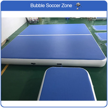 Free Shipping 4x4m Inflatable Air Tumble Track Air Track For Tumbling Inflatable Bouncing Tumble Mat Inflatable Gym Air Track