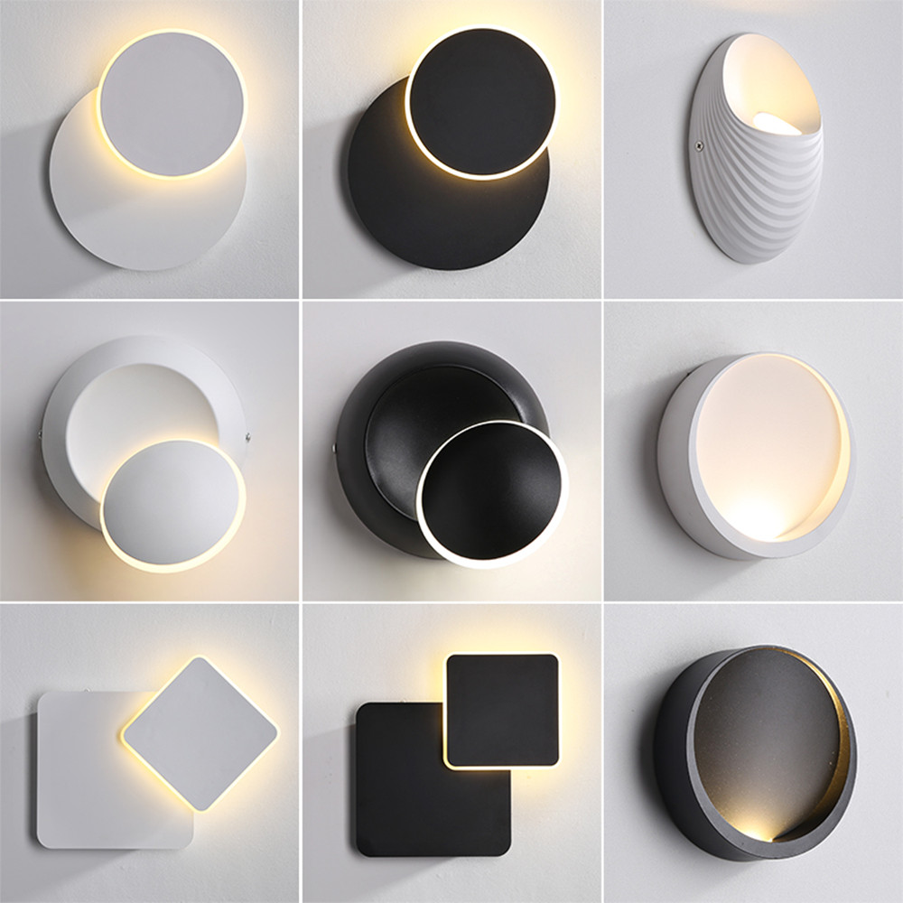 Modern Wall Light Led Indoor Wall Lamps Staircase Lighting Sconce Lamp Lights For Bedroom Living Room Stair Mirror Light Lampara