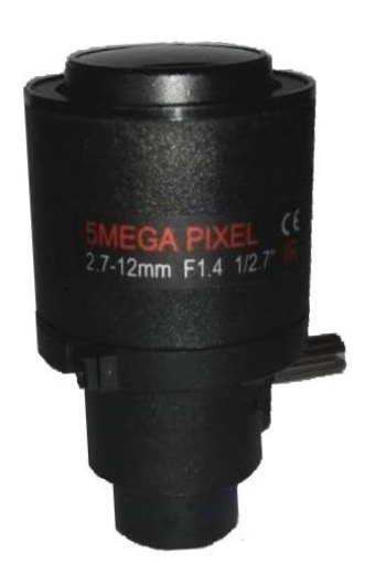 New product arrival 5Mega Pixel Sensor 1/2.7  Focal 2.7-12mm Mount 14 Manual Focus Zoom Fixed Iris CCTV lens camera lensNew product arrival 5Mega Pixel Sensor 1/2.7  Focal 2.7-12mm Mount 14 Manual Focus Zoom Fixed Iris CCTV lens camera lens