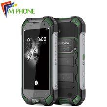 Оригинал Blackview BV6000 Водонепроницаемый 4 г мобильный телефон 3 ГБ Оперативная память 32 ГБ Встроенная память MT6755 Octa Core 4.7 дюйма HD Экран Android 6.0 сотовый телефон