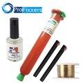 Nova tp-2500 UV LOCA cola líquida 50g com rede 20g tp 2500 Tela Glue Remover Dispergator cola Fio De Corte De Ouro 50 M