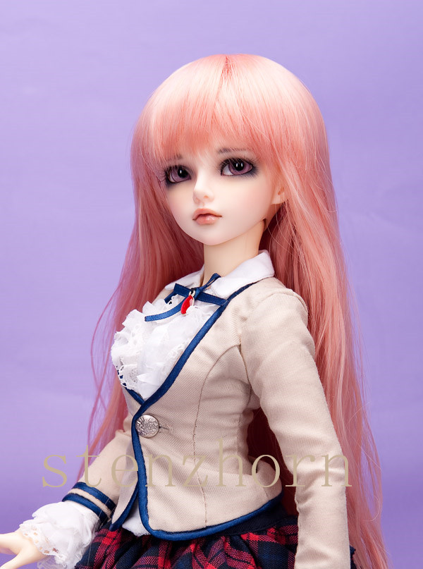 Bjd/sd-chloé Mika BJD poupées 1/4 doux mode fée nue jouets pour les filles cadeaux d'anniversaire