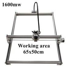 1600mW Mini desktop DIY Laser engraving engraver cutting machine Laser Etcher CNC print image of 50 X 65 cm Laser Engraver