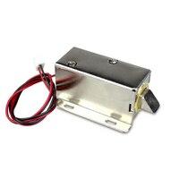 YL 03 Elektronische tür lock12V (24 V) kleine elektrische schlösser/schrankschlössern schubladensperre für rfid zugriffskontrolle|Elektroschloss|Sicherheit und Schutz -