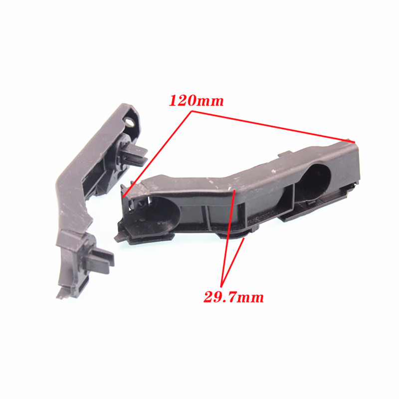 2PCS Front Bumper Mounting Bracket Clip Latch Clasp For Great Wall Wingle 5 Plastic Fastener