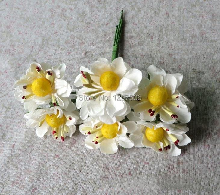 Ξ3.5 cm buatan mulberry kertas mini roses dengan benang sari ... 6e637f248a