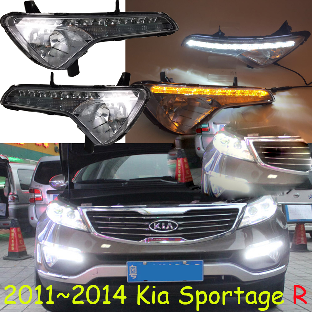 LED,2010~2014 KlA SportageR daytime Light,SportageR fog light,SportageR headlight;soul,spectora,k5,sorento,kx5,Sportage R