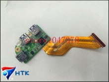 Оптовая для dagm7tb1ab0 для dell xps l501x l701x l702x usb 3.0 порт доска с кабелем 45m3v 100% работать идеально